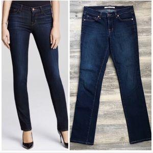 J Brand Straight Leg Mid Rise Jeans Size 26